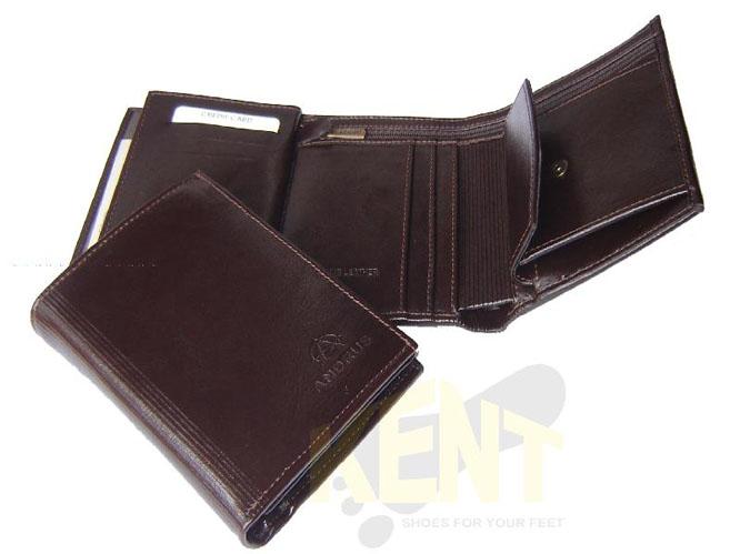 650cb341d566b ANDRUS 501 1 CZARNY - Skórzany bardzo elegancki portfel męski ...