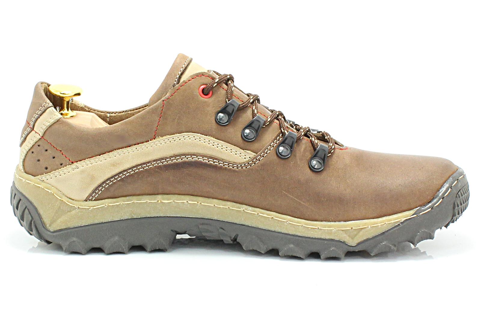 325fb00d KENT 268 BRĄZ - Polskie solidne buty trekkingowe ze skóry naturalnej ...
